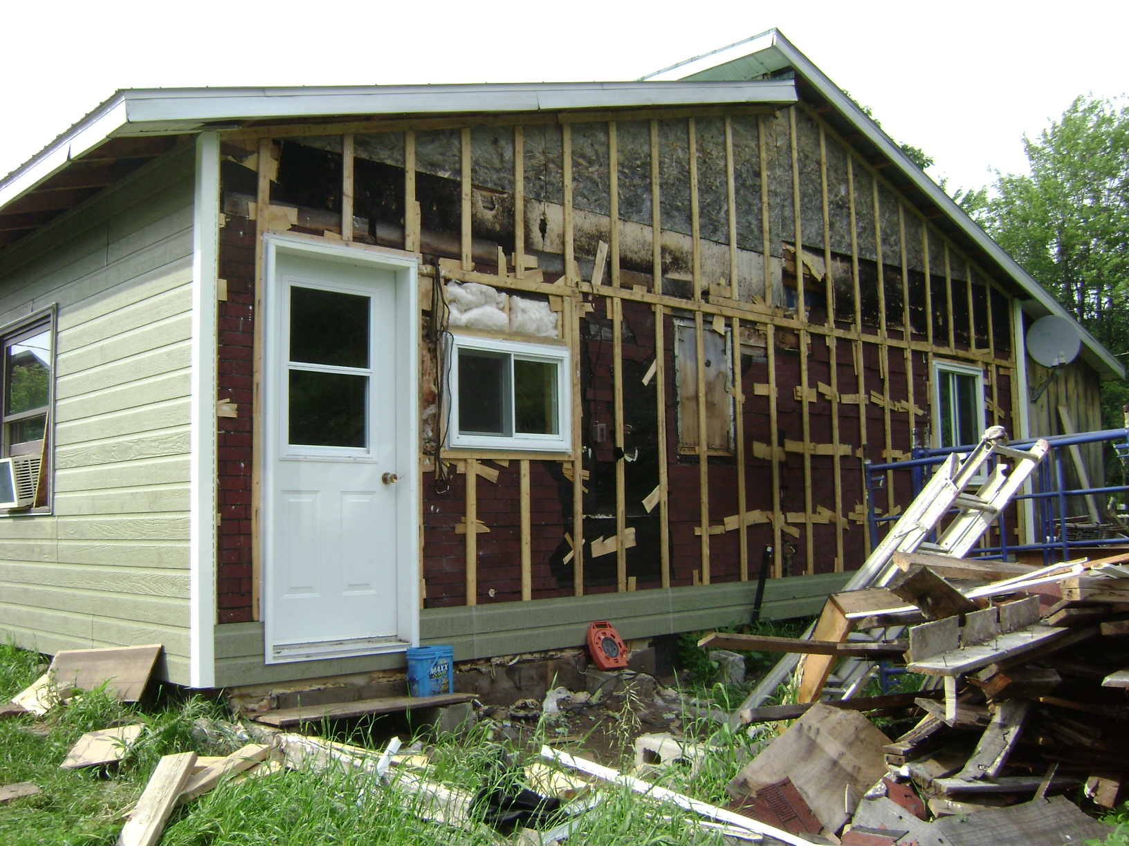 How To Install Siding On A House Home Improvements