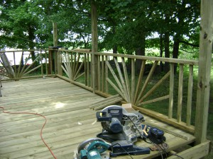 decks for improving home value