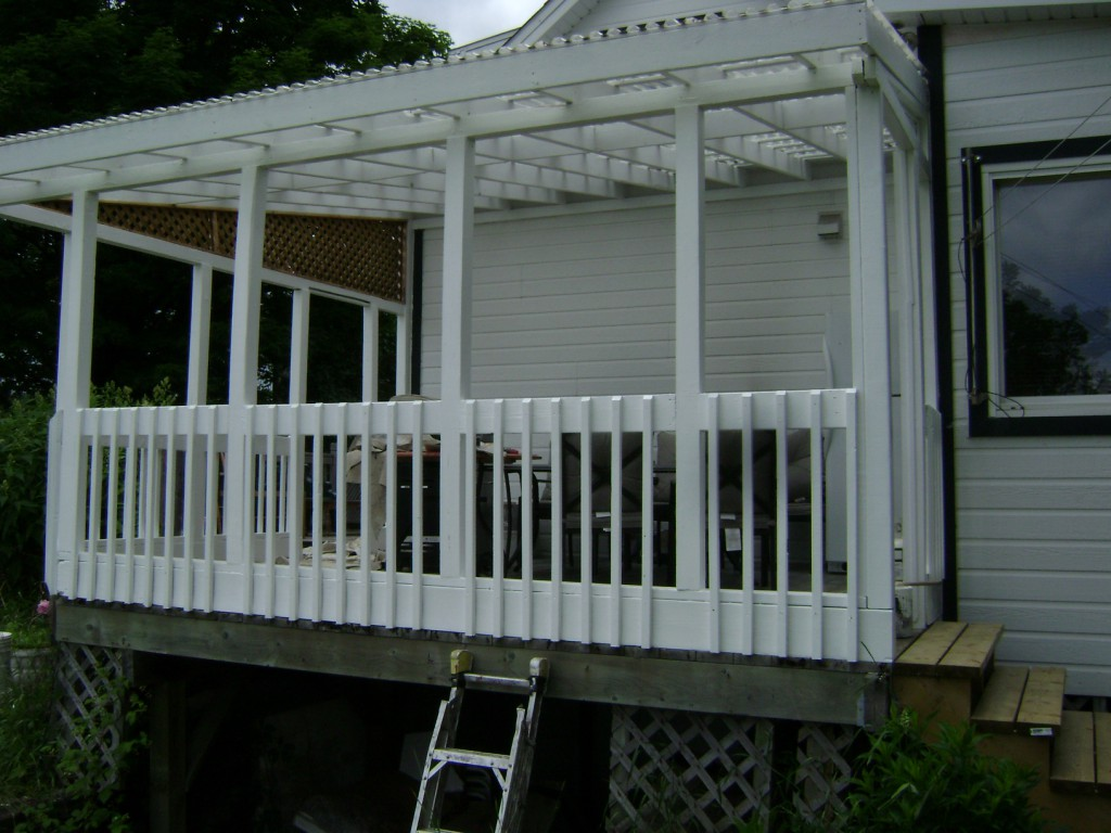 Painting deck