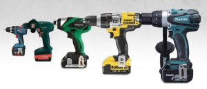 Building with Makita and Dewalt