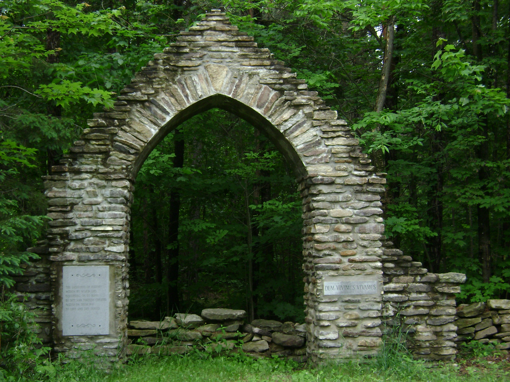 A Stone Arch Monument