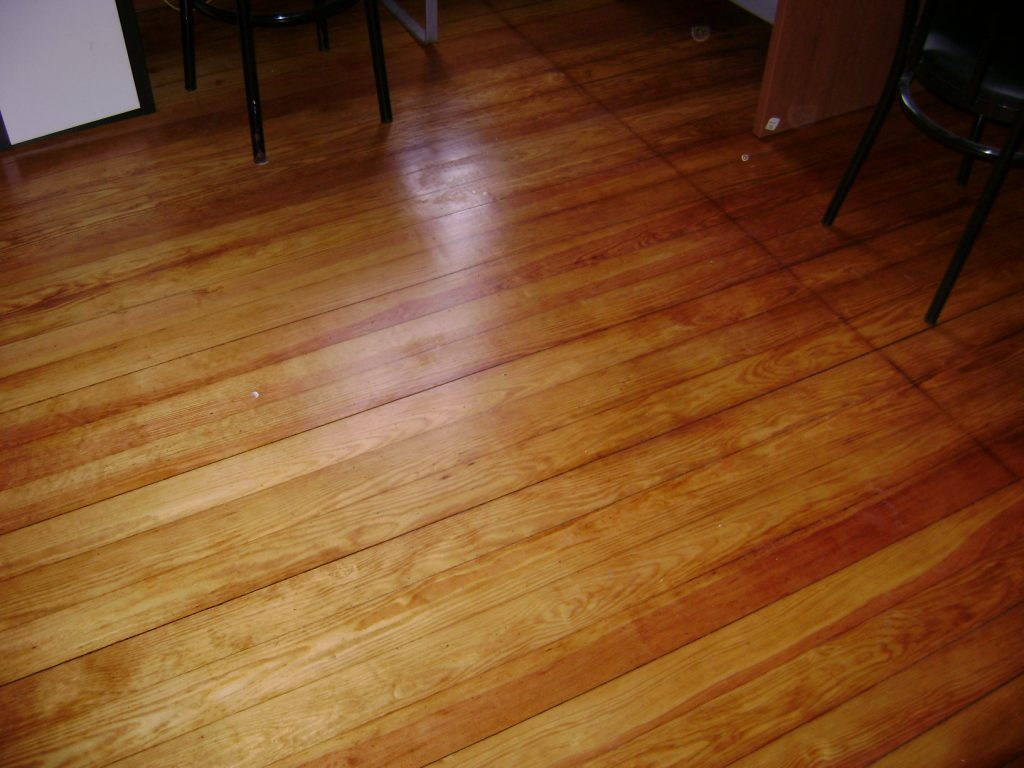 Sanding Wood Floors and Refinishing