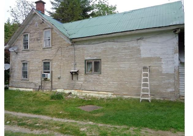 Scrape Paint Off A House